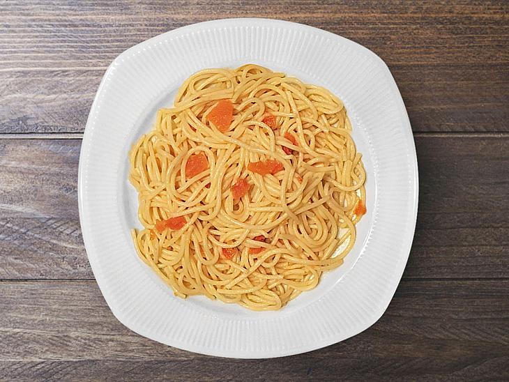 Domatesli Spagetti