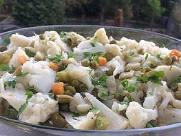 Garnitürlü Karnabahar Salatası