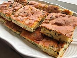 Ispanaklı Patatesli Tuzlu Kek