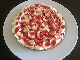 Muzlu Kremalı Pasta