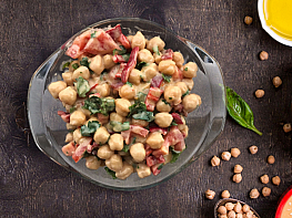 Tahinli Nohut Salatası
