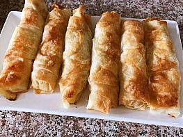 Patatesli Sarma Börek