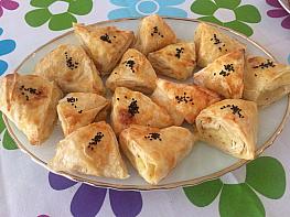 Patatesli Üçgen Börek