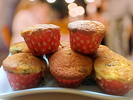Üzümlü Cupcake