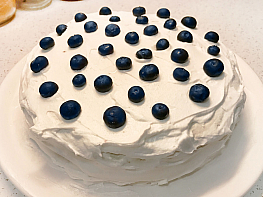 Yaban Mersinli Pasta