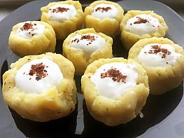 Yoğurtlu Patates Çanakları