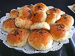 Yuvarlak Sandviç Ekmeği